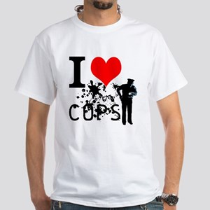 i love cops T-Shirt
