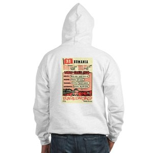 Vintage Romania Hooded Sweatshirt