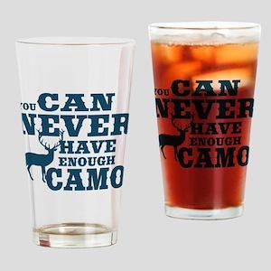 Hunting Camo Humor Drinking Glass