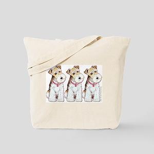 Homeless Fox Terrier Tote Bag