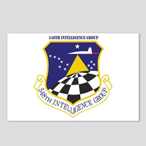 548th Intelligence Group With Text Postcards Pack