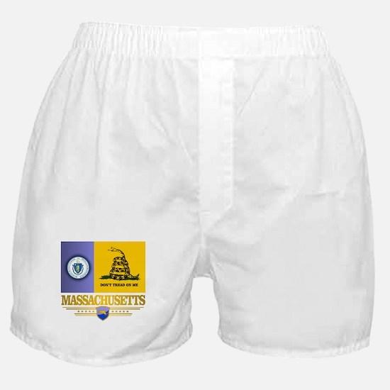 Massachusetts Gadsden Flag Boxer Shorts