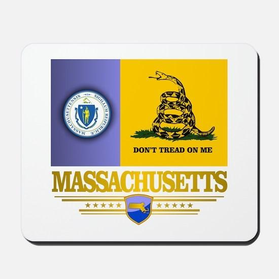 Massachusetts Gadsden Flag Mousepad