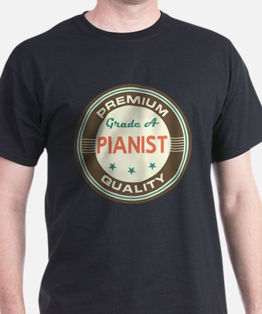 Pianist Piano Teacher Vintage T-Shirt