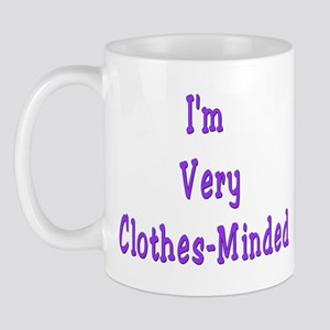 Very Clothes-Minded Mug