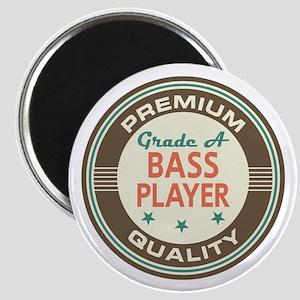 Bass Player Vintage Magnet
