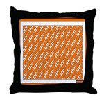 Homey Depository HD Parody Throw Pillow