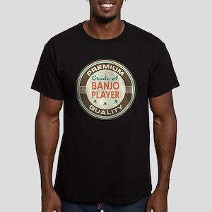 Banjo Player Vintage Men's Fitted T-Shirt (dark)