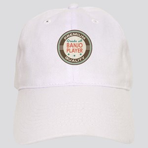 Banjo Player Vintage Cap