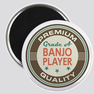 Banjo Player Vintage Magnet