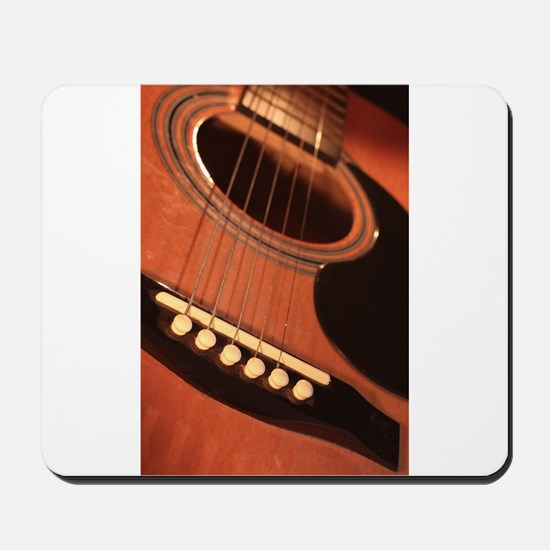 Guitar by candle light Mousepad