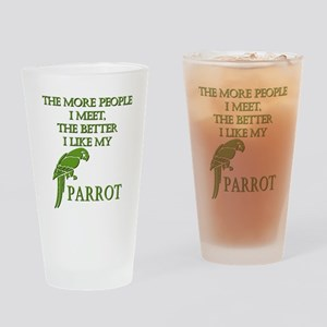 Like My Parrot Drinking Glass