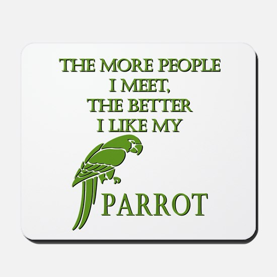 Like My Parrot Mousepad