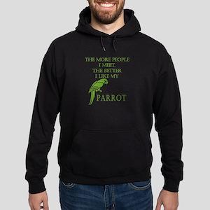 Like My Parrot Hoodie (dark)