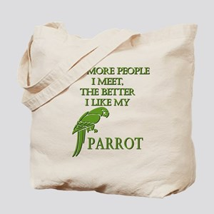 Like My Parrot Tote Bag