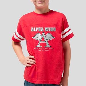 Alpha Wing Backup Youth Football Shirt