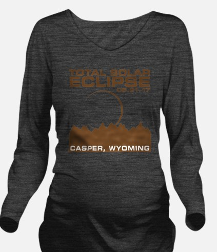 Unique Wyoming Long Sleeve Maternity T-Shirt
