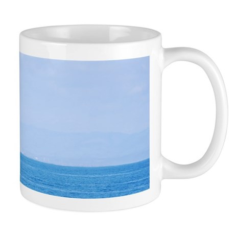 Boat in the Blue Mug