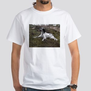 english setter laying T-Shirt