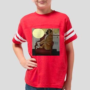 Jackson - Chair - Blank Card  Youth Football Shirt