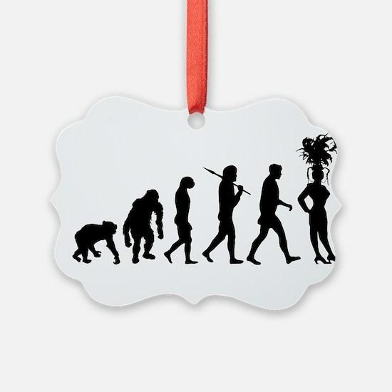 Showgirl Evolution Ornament