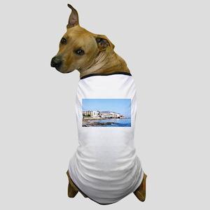 Monterey Beach Buildings Dog T-Shirt