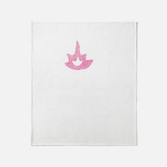 Women%27s scoop neck Throw Blanket