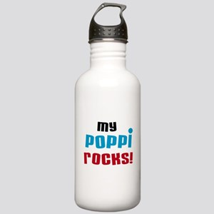 My Poppi Rocks Water Bottle