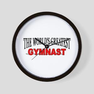 """The World's Greatest Gymnast"" Wall Clock"