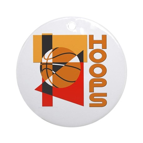 Hoops Ornament (Round)