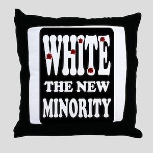 WHITEY Throw Pillow