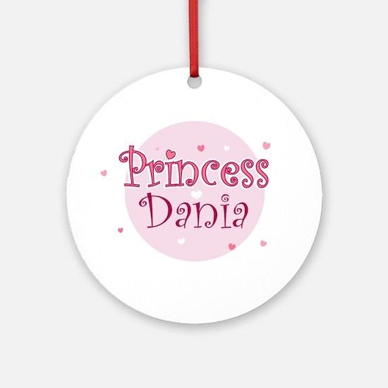 Dania Ornament (Round)