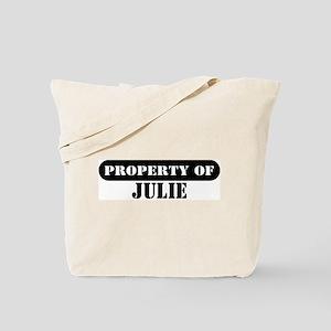 Property of Julie Tote Bag
