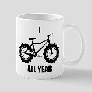 I Fatbike All year Mug