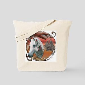 Warrior Pony Tote Bag