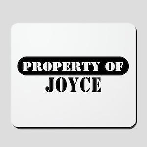 Property of Joyce Mousepad
