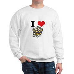 I Heart (Love) Popcorn Sweatshirt