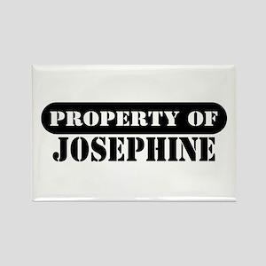 Property of Josephine Rectangle Magnet