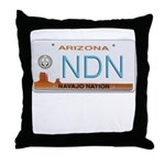 Navajo Nation NDN plate Throw Pillow