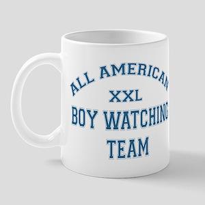 AA Boy Watching Team Mug