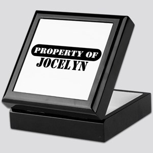 Property of Jocelyn Keepsake Box