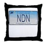 Connecticut NDN Throw Pillow