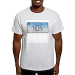 Connecticut NDN Ash Grey T-Shirt