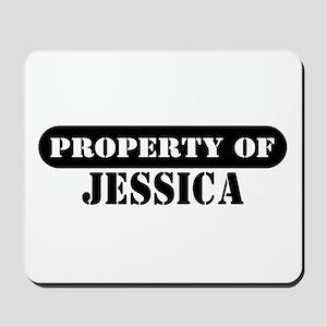 Property of Jessica Mousepad