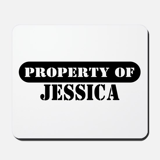 Property of Jessica Mousepad