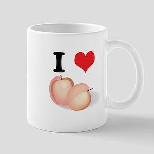 I Heart (Love) Pears Mug