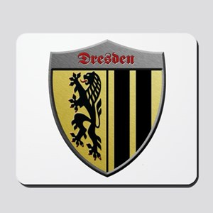 Dresden Germany Metallic Shield Mousepad