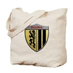 Dresden Germany Metallic Shield Tote Bag