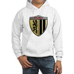 Dresden Germany Metallic Shield Hoodie