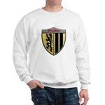 Dresden Germany Metallic Shield Sweatshirt